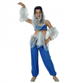 Disfraz de Bailarina Mora Azul para niña