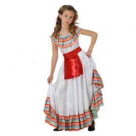 Disfraz Infantil de Mexicana