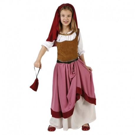 Disfraz Infantil de Mesonera Medieval