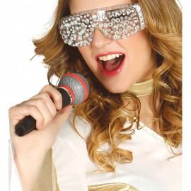 Micrófono de plástico