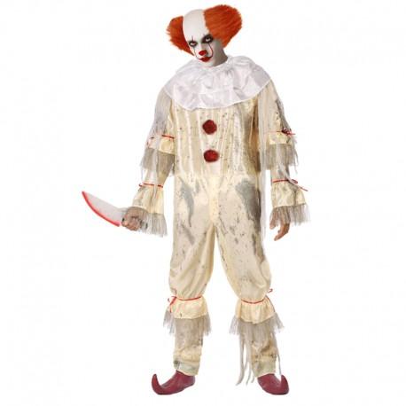 Disfraz de Payaso macabro para adulto