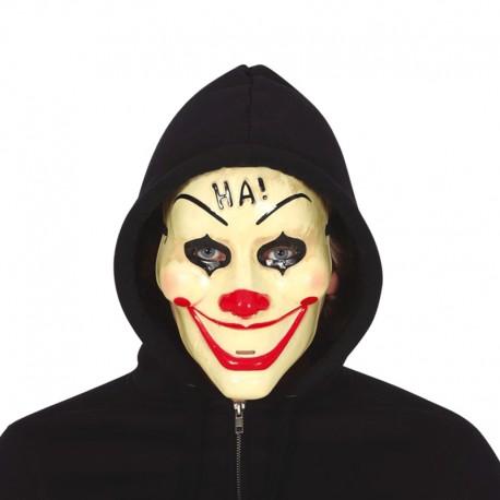 Máscara de Payaso de plástico para adulto