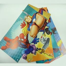 Invitaciones de Spider-Man para cumpleaños
