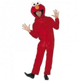 Disfraz de Barrio Sésamo (Elmo) para adulto