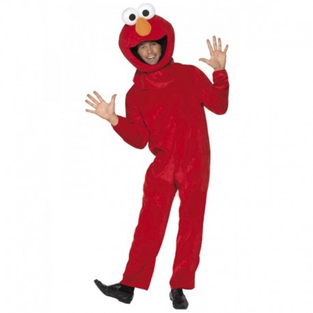 Disfraz de Barrio Sésamo (Elmo)