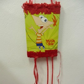 Piñata Phineas and Ferb infantil para cumpleaños