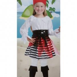 Disfraz de Pirata para niña