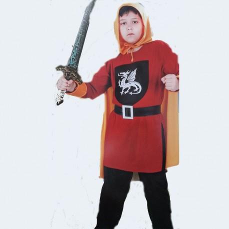 Disfraz de Cazador de Dragones de niño
