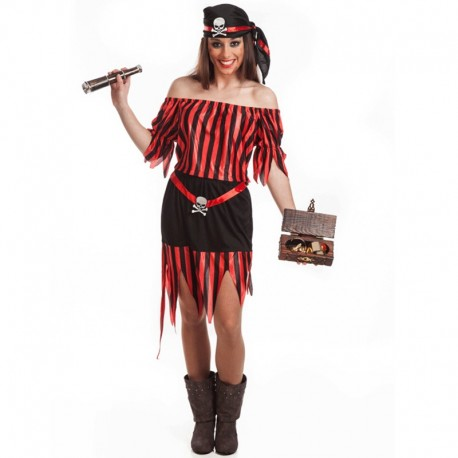 Disfraz de Pirata Sexy de mujer