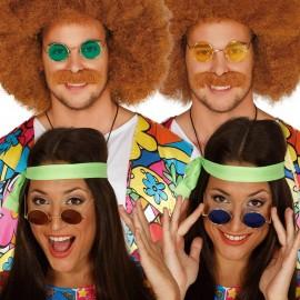 Gafas de Hippie para adultos