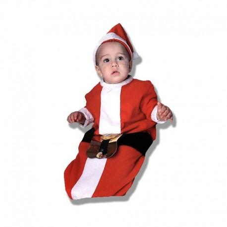 Disfraz de Papa Noel de bebe