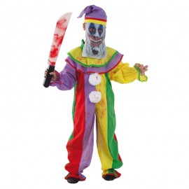Disfraz de Payaso Psyco para niño