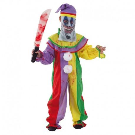 Disfraz de Payaso Psyco de niño