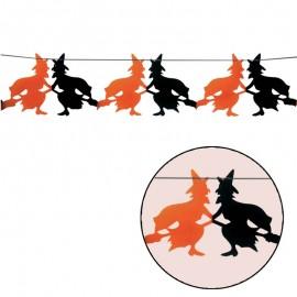 Guirnalda de Brujas para decoración Halloween