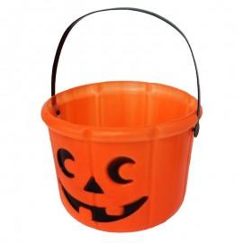 Cubo de Calabaza para decoración de Halloween