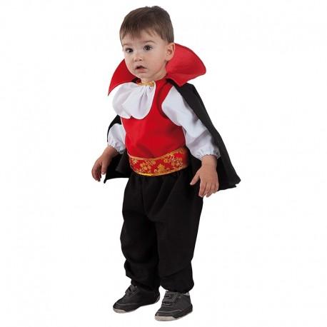 Disfraz de Dracula de bebe