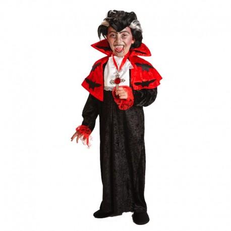 Disfraz de Dracula de niño