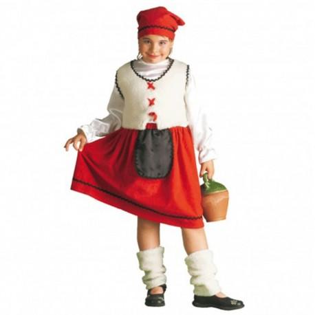 Disfraz de Pastora de niña