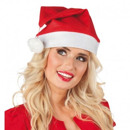 Gorro de Papa Noel liso