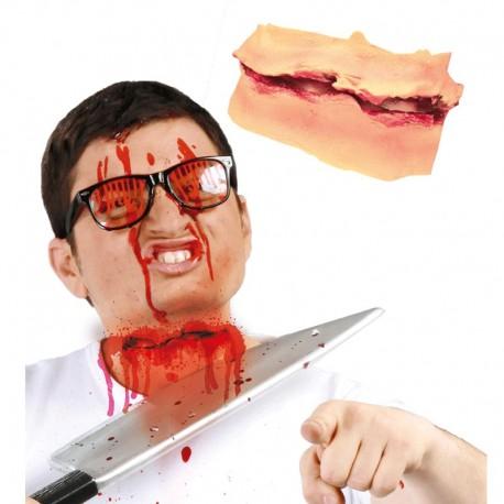Cicatriz Corte de Cuello