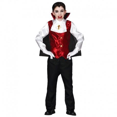 Disfraz de Draculín de niño