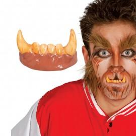 Dientes Colmillos de Hombre Lobo para adulto