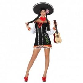 Disfraz de mariachi sexy de mujer