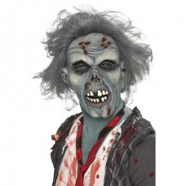 Máscara de zombie, en descomposición