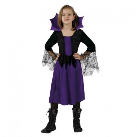 Disfraz de Aracnida de niña