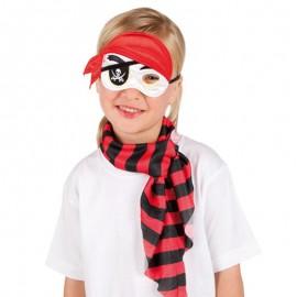 Antifaz de pirata infantil