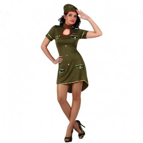 Disfraz de Militar alto cargo de mujer