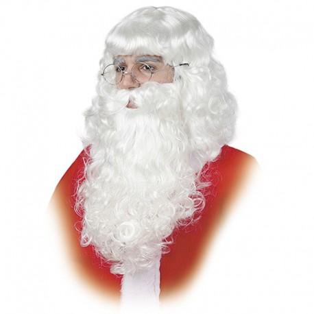 Barba de Papa Noel de adulto