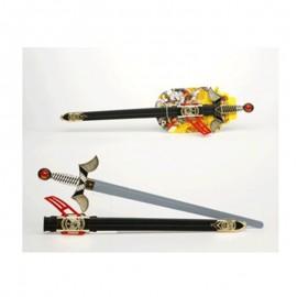 Espada de soldado medieval de plástico