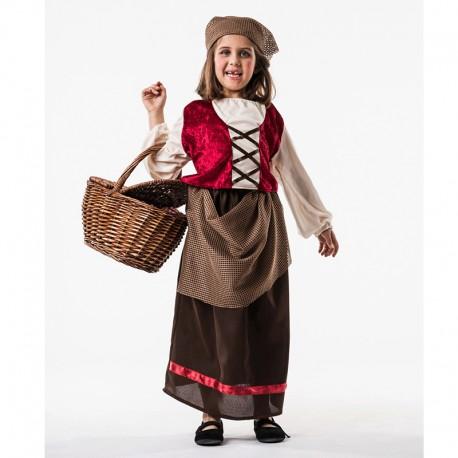 Disfraz de Posadera de niña