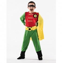 Disfraz de Super Robin de niño