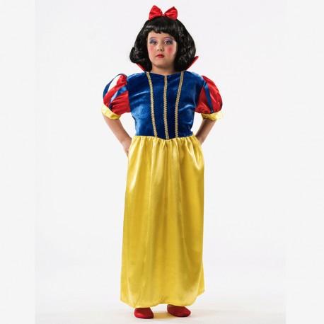 Disfraz de Princesa de las Nieves de niña