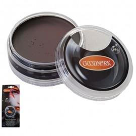 Maquillaje al agua en crema de color marrón