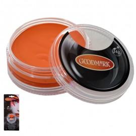 Maquillaje al agua en crema de color naranja