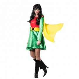 Disfraz de Superheroína Robin para mujer