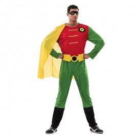 Disfraz de Superhéroe Robin para hombre
