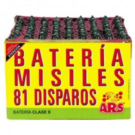 Batería Misiles  81 disparos