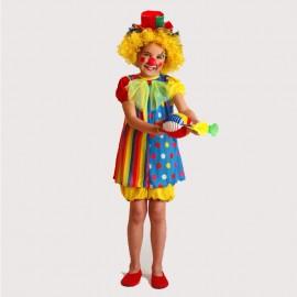 Disfraz de Payasa para para niña