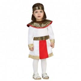Disfraz de egipcia para bebé