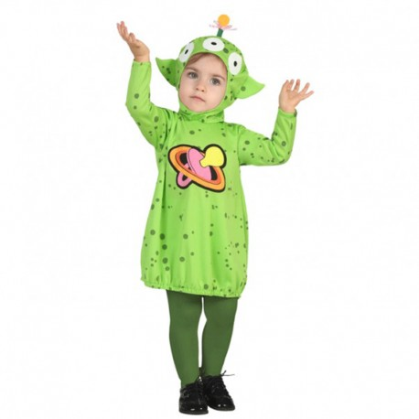 Disfraz de alien para bebé