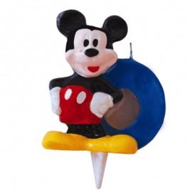 Vela para cumpleaños de Mickey Nº0