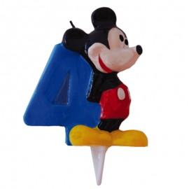 Vela para cumpleaños de Mickey Nº4