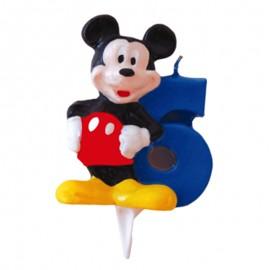 Vela para cumpleaños de Mickey Nº6