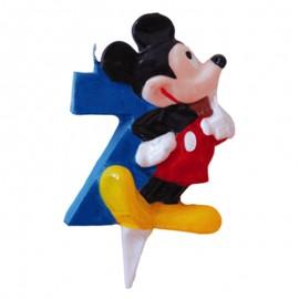 Vela para cumpleaños de Mickey Nº7