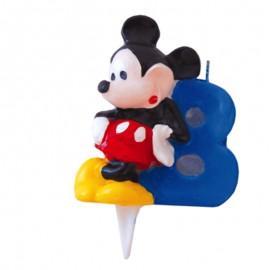 Vela para cumpleaños de Mickey Nº8