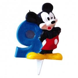 Vela para cumpleaños de Mickey Nº9